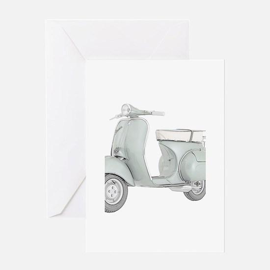 1959 Piaggio Vespa Greeting Card