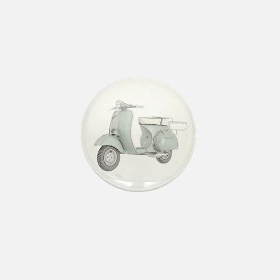 1959 Piaggio Vespa Mini Button