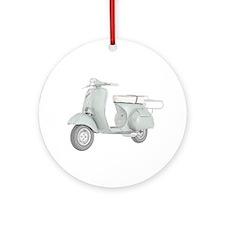 1959 Piaggio Vespa Ornament (Round)