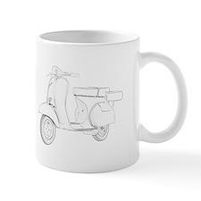 1959 Piaggio Vespa Mug