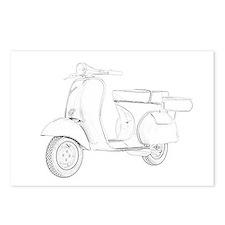 1959 Piaggio Vespa Postcards (Package of 8)
