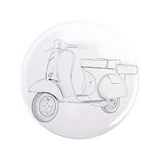 """1959 Piaggio Vespa 3.5"""" Button"""