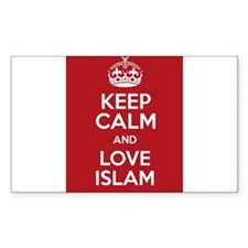 KEEP CALM AND LOVE ISLAM Decal