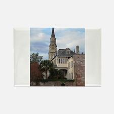 Charleston SC Church Rectangle Magnet