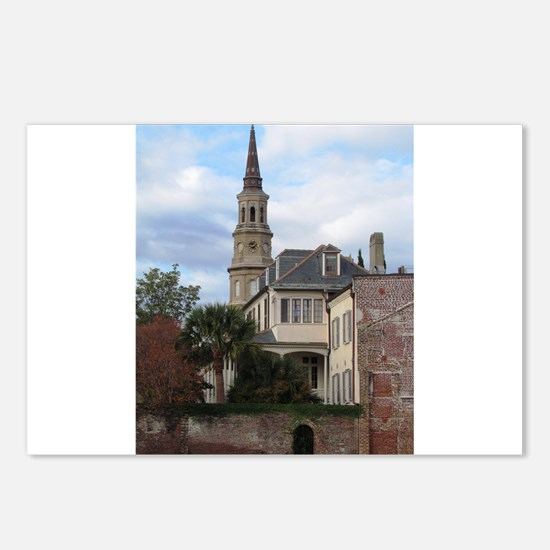 Charleston SC Church Postcards (Package of 8)