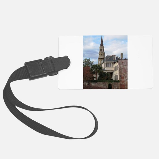 Charleston SC Church Luggage Tag