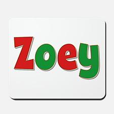 Zoey Christmas Mousepad