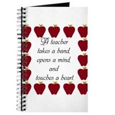 A teacher takes a hand Journal