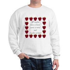 A teacher takes a hand Sweatshirt