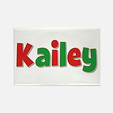 Kailey Christmas Rectangle Magnet