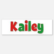 Kailey Christmas Bumper Bumper Bumper Sticker