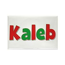 Kaleb Christmas Rectangle Magnet