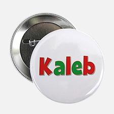 Kaleb Christmas Button