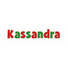 Kassandra Christmas 36x11 Wall Peel