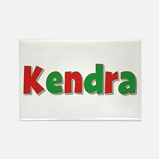 Kendra Christmas Rectangle Magnet