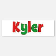 Kyler Christmas Bumper Bumper Bumper Sticker