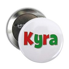 Kyra Christmas Button