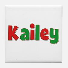 Kailey Christmas Tile Coaster