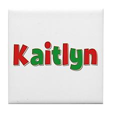 Kaitlyn Christmas Tile Coaster