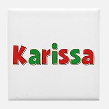 Karissa Christmas Tile Coaster