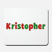 Kristopher Christmas Mousepad