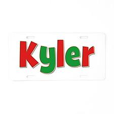Kyler Christmas Aluminum License Plate