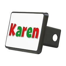 Karen Christmas Hitch Cover