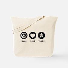 Tango Dancing Tote Bag