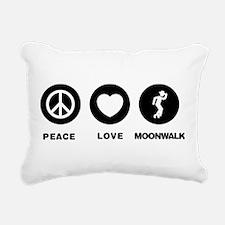 Moonwalker Rectangular Canvas Pillow