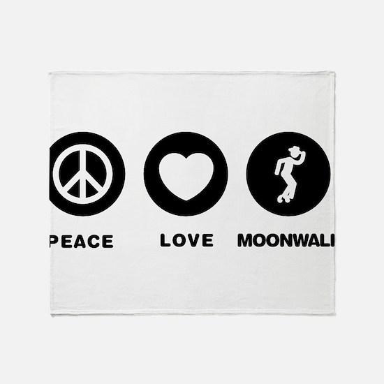 Moonwalker Throw Blanket