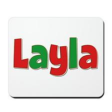 Layla Christmas Mousepad
