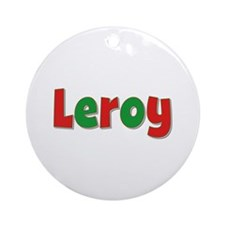 Leroy Christmas Round Ornament
