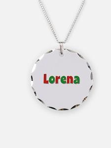 Lorena Christmas Necklace