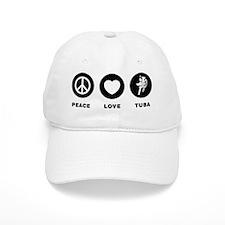 Tuba Player Baseball Cap