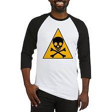 Caution Pirate Skull & XBones Baseball Jersey