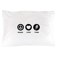Tuba Player Pillow Case