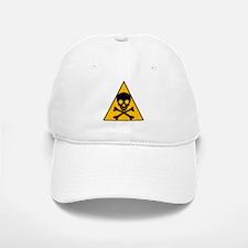 Caution Pirate Skull & XBones Baseball Baseball Cap