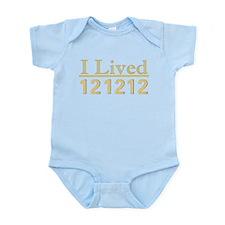 I Lived 121212 Infant Bodysuit