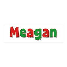 Meagan Christmas 36x11 Wall Peel