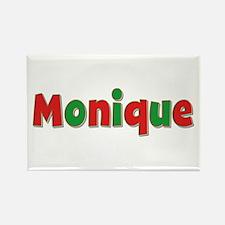Monique Christmas Rectangle Magnet