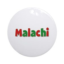 Malachi Christmas Round Ornament