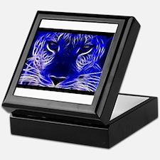 Neon Leopard Keepsake Box