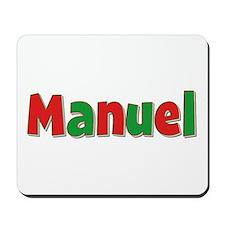 Manuel Christmas Mousepad