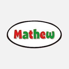 Mathew Christmas Patch