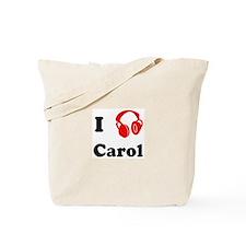 Carol music Tote Bag
