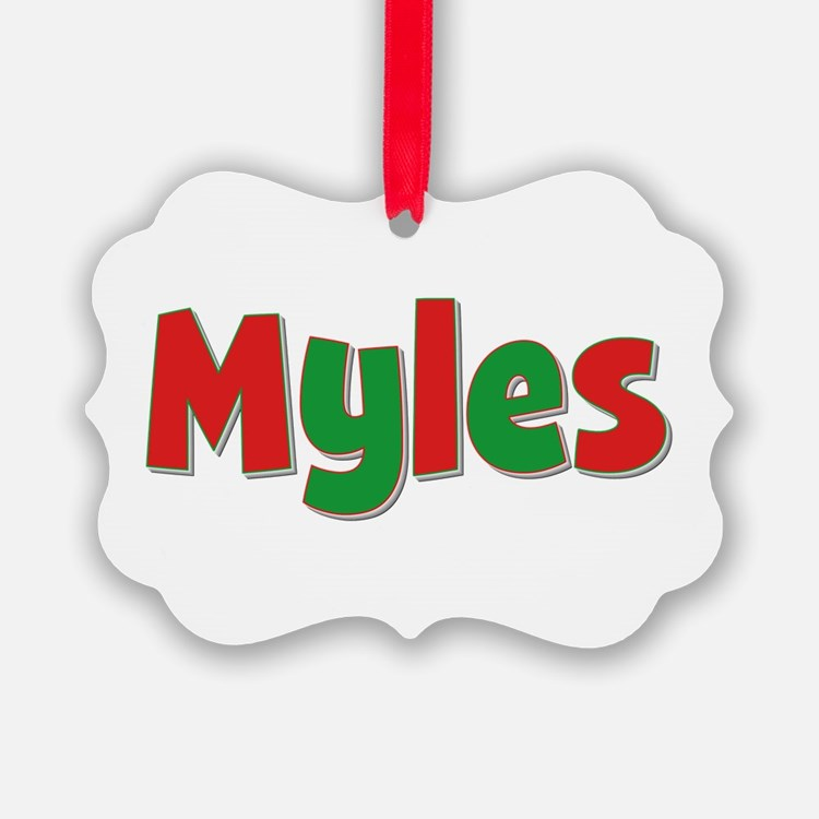 Myles Christmas Ornament