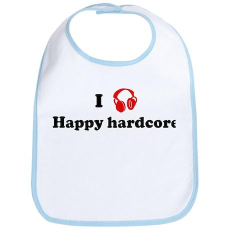 Happy hardcore music Bib