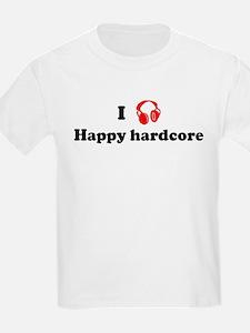 Happy hardcore music Kids T-Shirt