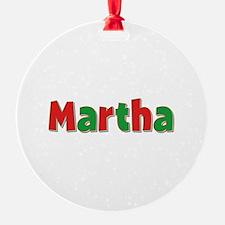 Martha Christmas Ornament