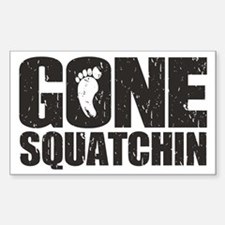 Gone Squatchin Decal